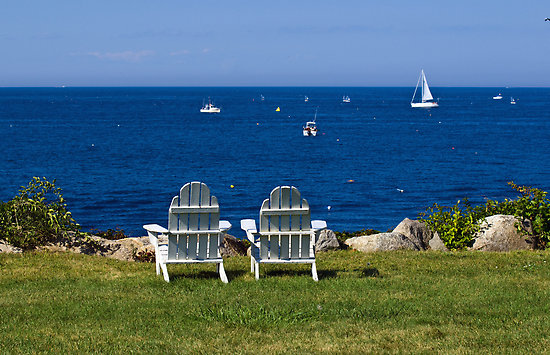 """The """"typical"""" Adirondack ocean view pic"""