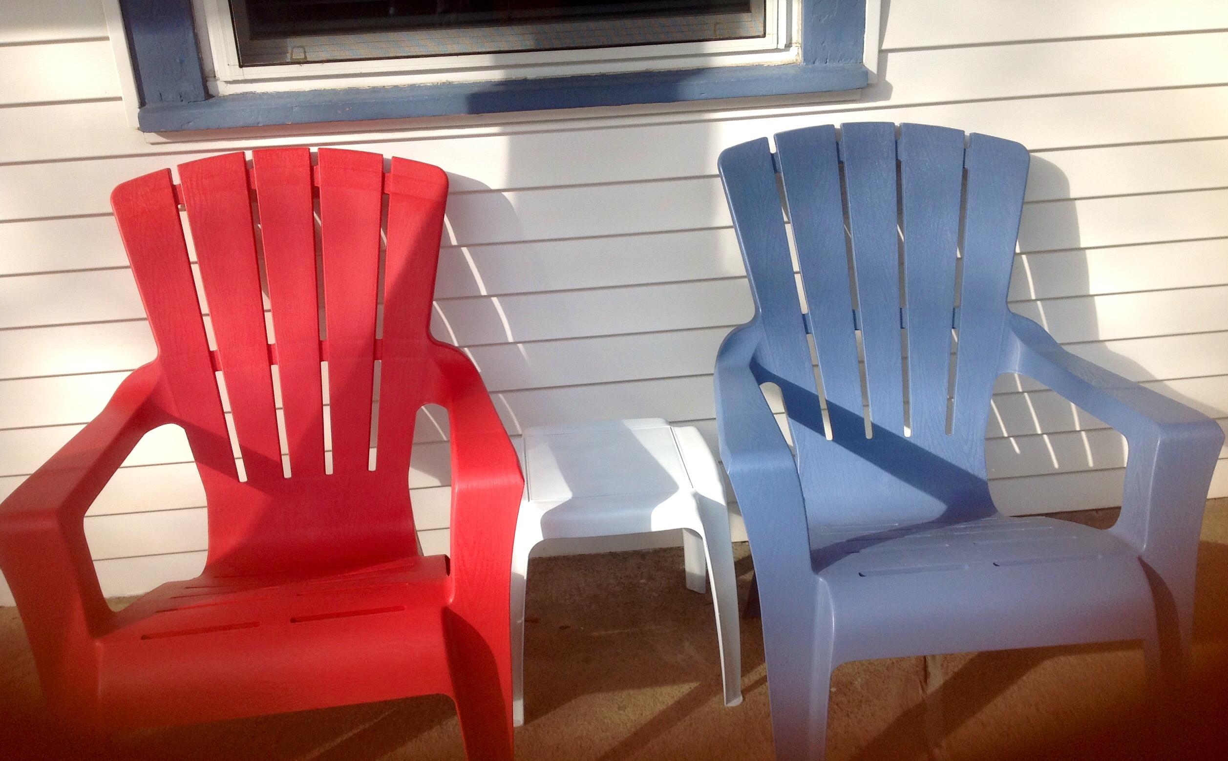 Musical Motel Adirondack Chairs